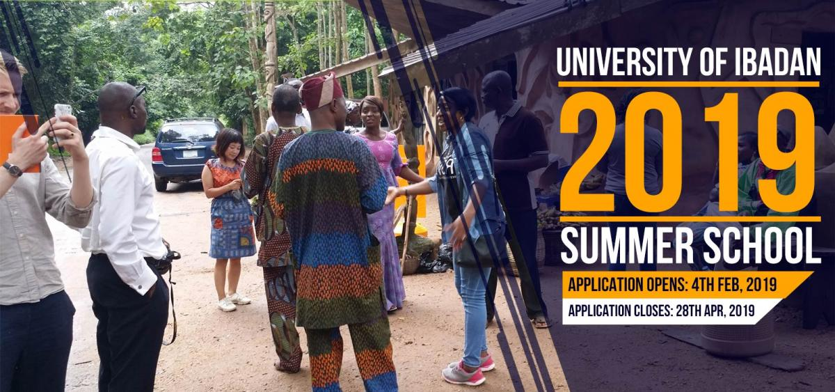 University of Ibadan 2019 Summer School